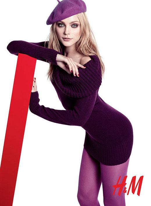 Очарователната Джесика Стам за H&M