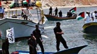 """Израел взе на абордаж """"Флотилията на свободата"""""""