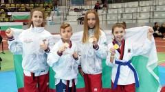 Българското таекуондо стартира годината с четири златни медала