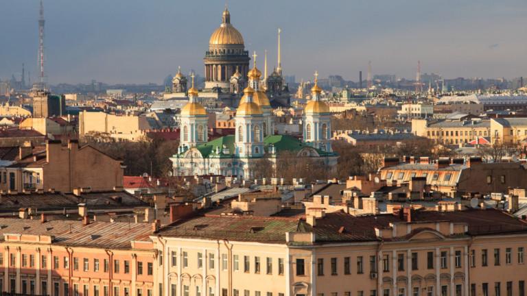Снимка: Русия строи жп линия между Москва и Санкт Петербург за $24 милиарда