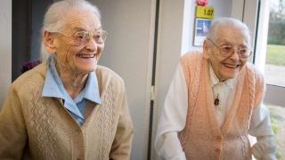 Ето ги най-дълголетните близнаци