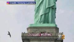 Ню Йорк с проява за бежанците