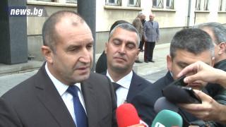 Радев: Гражданите виждат, че не са приоритет и протестират