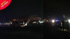 Инцидент на летище в Лондон