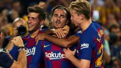 "Барса с голова фиеста срещу Бетис, Гризман обра овациите на ""Камп Ноу"""