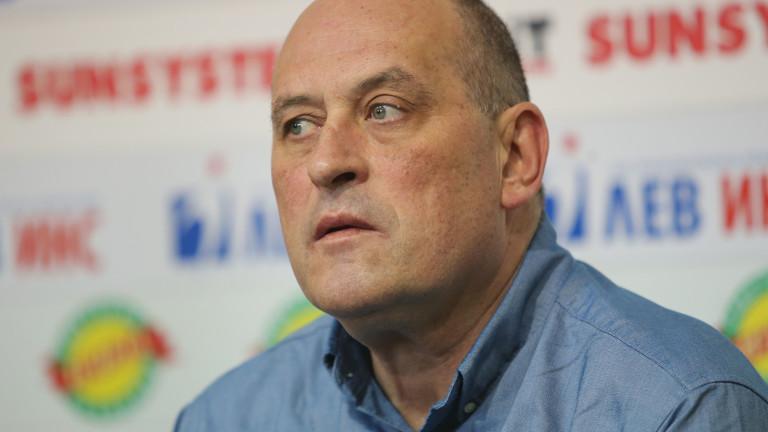 Селекционерът на мъжкия национален отбор на България по баскетбол Росен