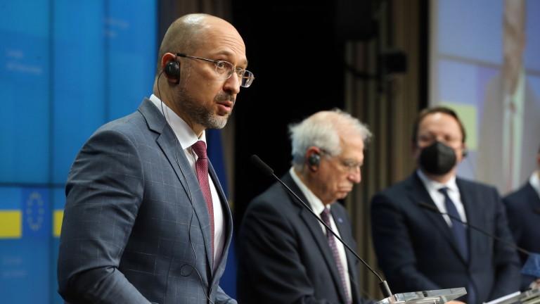 Министър-председателят на Украйна Денис Шмигал е възложил на Министерството на