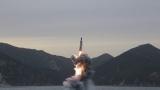 КНДР изстреля балистична ракета от подводница