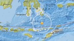Индонезия предупреди за цунами след земетресение от 7 в Ломбок