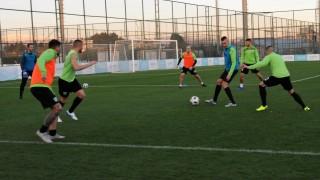 Берое проведе първа тренировка в Турция, Боби Цонев не взе участие