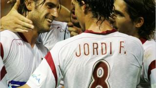 Еспаньол се спаси от изпадане с гол в 92-ата минута