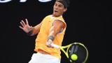 Рафаел Надал на 1/4-финал на Australian Open след труден сет срещу Томаш Бердих