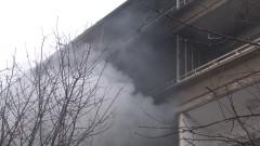 Жена загина при пожар в жилищен блок в Перник
