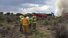 В Мексико се разби самолет