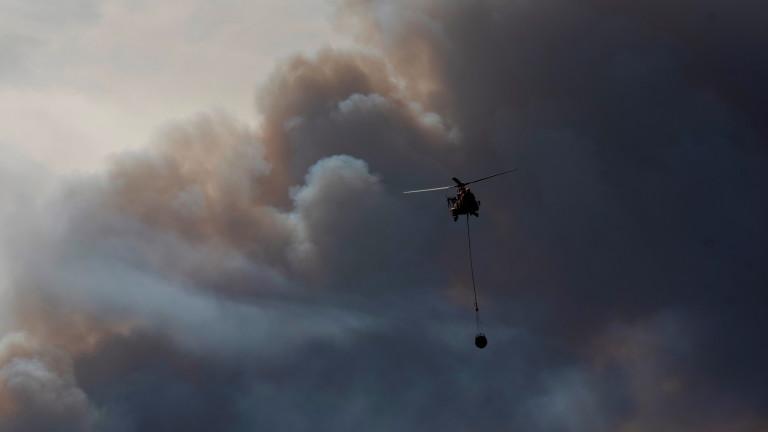 Пожарникари се борят с горски пожари в мащаб, невиждан в