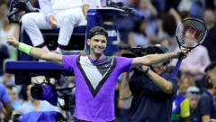 Мач за историята! Григор Димитров развенча Роджър Федерер и е на 1/2-финал на US Open!