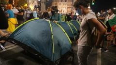 """Ден 30: Протестиращите отново блокираха  """"Орлов мост"""""""