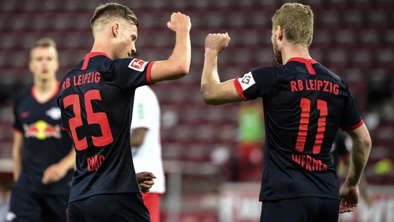 РБ Лайпциг изигра поредния си зрелищен двубой в Бундеслигата. Тази