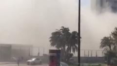 Сграда се срути в Тел Авив