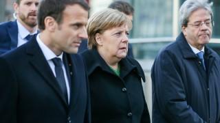 Меркел и Макрон помолиха Путин да подкрепи резолюцията за Сирия