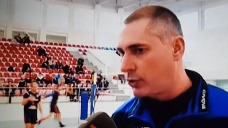 Наставникът на Ботев (Луковит) Пламен Тодоров е доволен от играта срещу Монтана