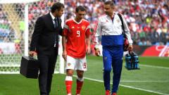 Алан Дзагоев може да пропусне всички мачове на Русия до края на Мондиала