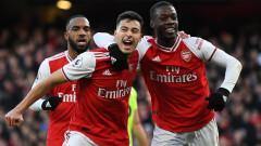 Равенство номер 11 за сезона остави Арсенал извън Топ 9 във Висшата лига