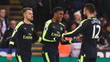 Арсенал триумфира в Уелс след нелепи грешки на Суонси
