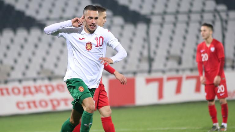 Представители на Селтик наблюдавали Станислав Иванов срещу Полша