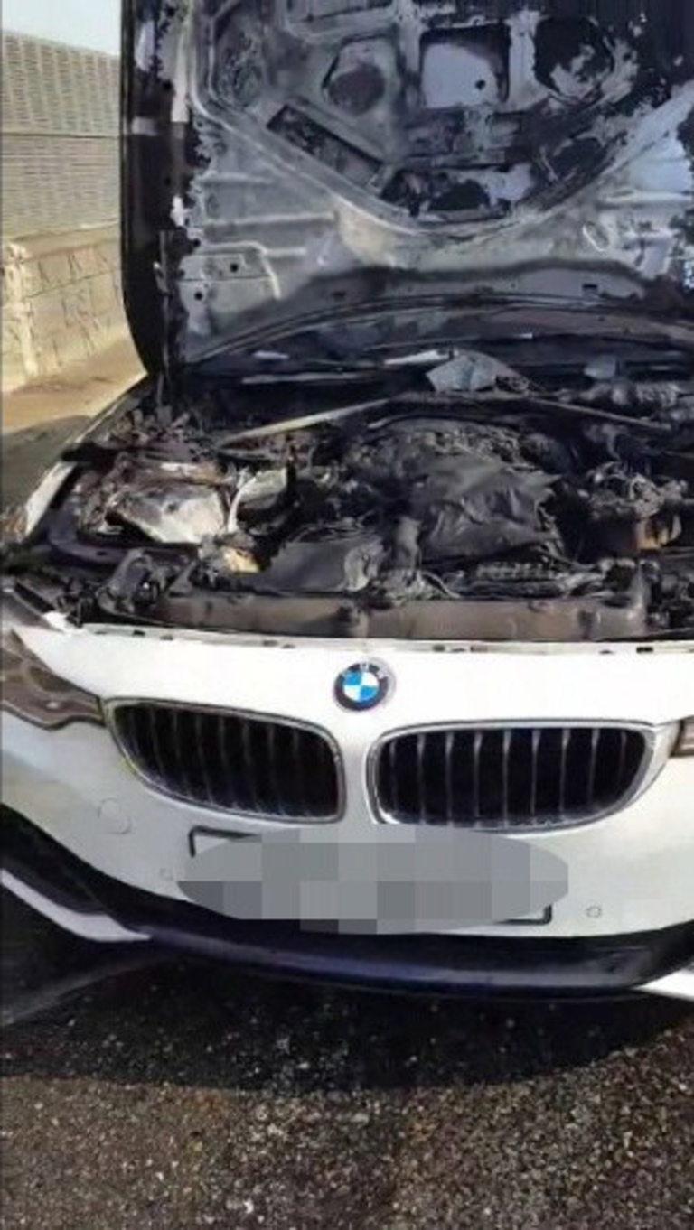 Р. Корея, Инцидент със самозапалил се автомобил BMW, 31 юли 2018 г.