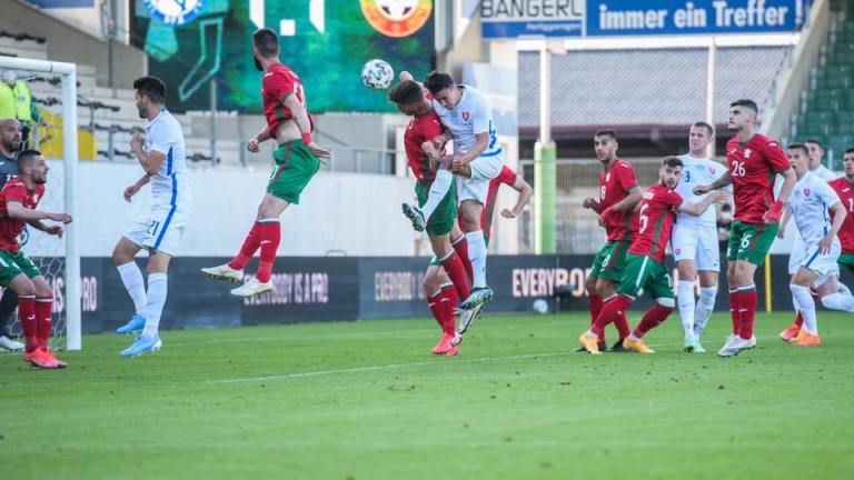 Всички футболисти на националния отбор на България са с отрицателни