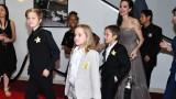 Момичетата на Джоли и Пит не си падат по рокли