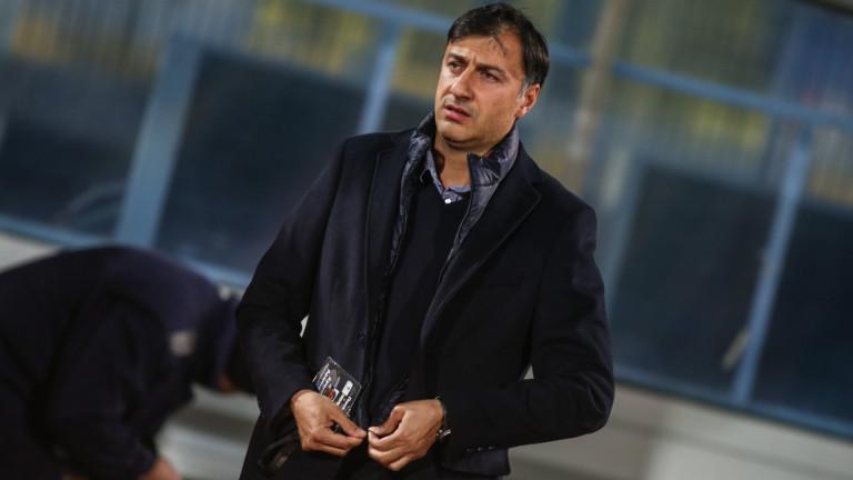 Треньорът на Септември: Всеки се надява на подобаващо представяне срещу шампиона на България