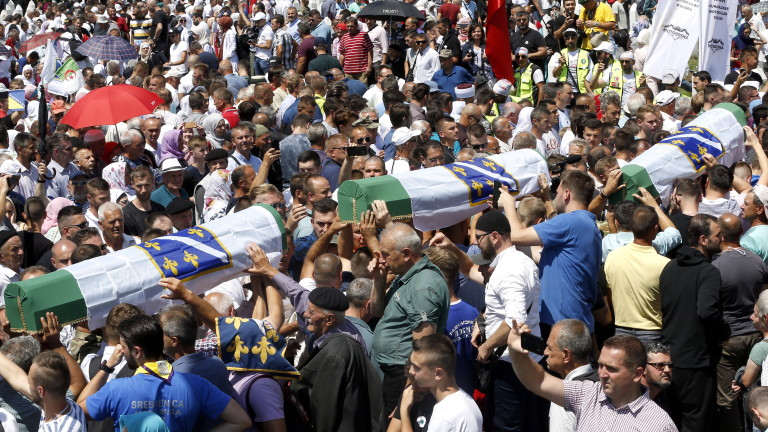 Сръбски депутат от управляващата Сръбска прогресивна партия нарече клането в