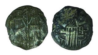 Откриха сребърен грош на цар Иван Александър в опожарена през XIII в. крепост