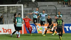 Черно море - Берое 0:0, срещата се играе на наводнен терен