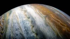 """Juno засне """"гоблен"""" от облаци в атмосферата на Юпитер"""