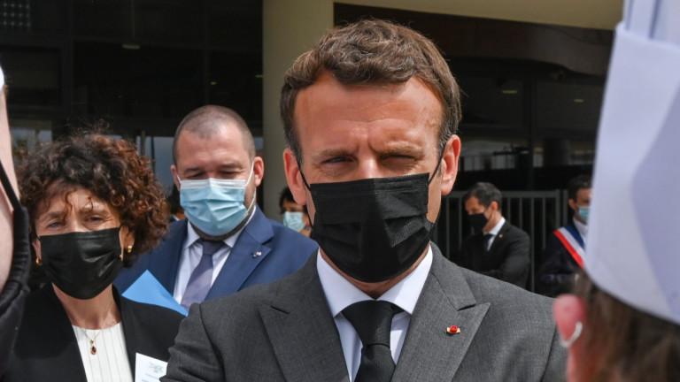 Френският президент Еманюел Макрон е нападнат в департамента Дром в