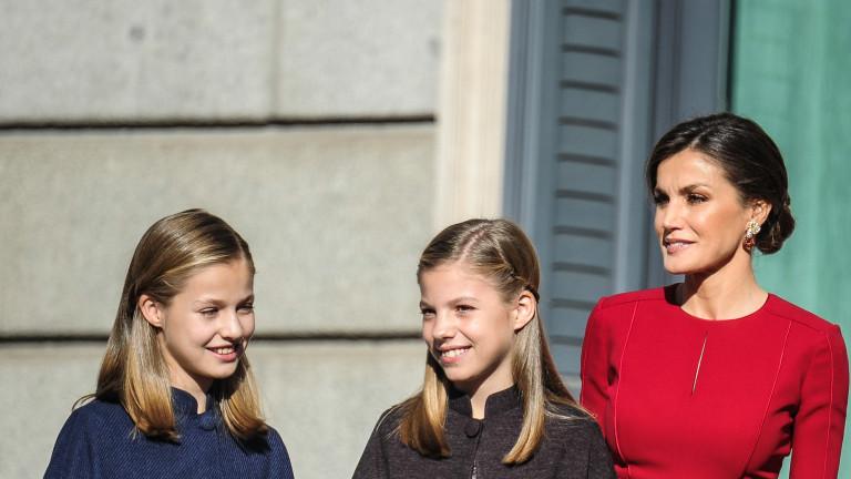 На какво учи дъщерите си кралица Летисия