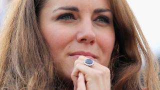 Кейт Мидълтън и историята зад годежния й пръстен