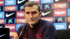 Ернесто Валверде сподели своята версия за слабата игра на Барселона