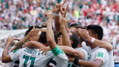 """Мексико победи Южна Корея с 2:1 и оглави Група """"F"""""""