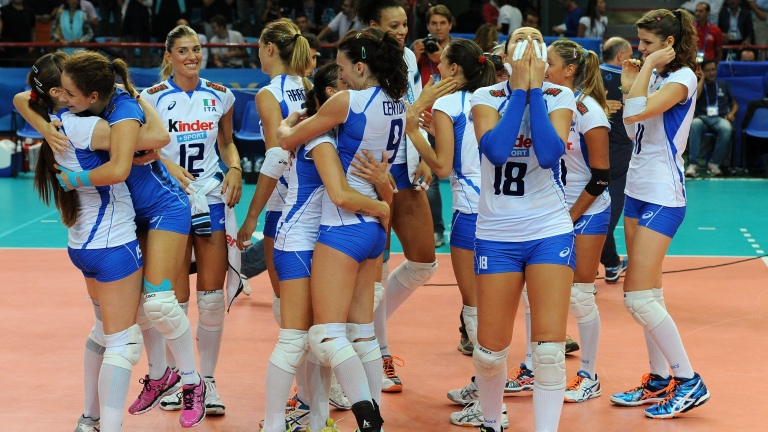 Фото волейболисток италии