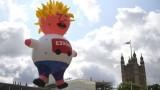 Про-ЕС протест в Лондон обяви Борис Джонсън за марионетка на Фараж