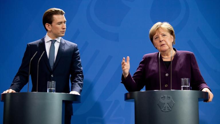 Германският канцлер Ангела Меркел смята, че ЕС може да се