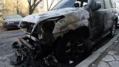 Пироман палел колите в София, смятат в МВР