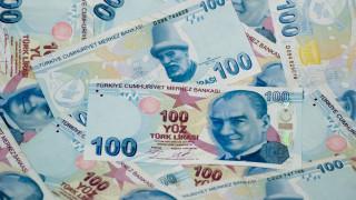 Турската лира пак се срина до рекордно дъно