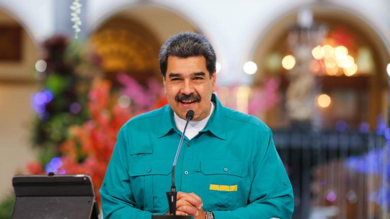 Мадуро: САЩ наливат $1,7 млрд. в опозицията на Венецуела
