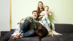 Куче, котка и бебе: адско парти от зори до мрак