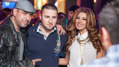 Есил Дюран с мъжа си на DJ парти (СНИМКИ)